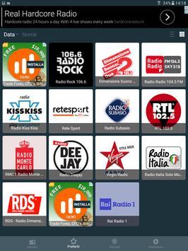 10 Schermata Radio Italia