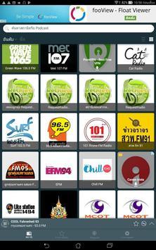 6 Schermata วิทยุออนไลน์ Radio Thailand