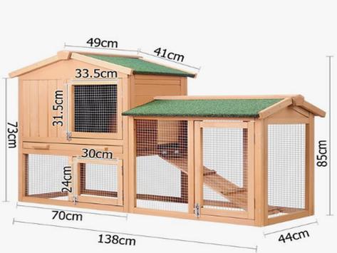 Making rabbit cage poster
