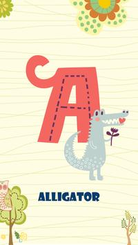 Learn ABC poster