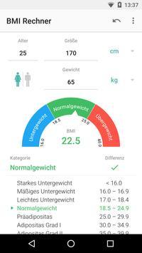 BMI Rechner Plakat
