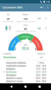 Poster Calcolatore BMI