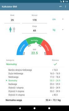 Kalkulator BMI screenshot 6