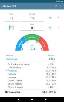 Kalkulator BMI screenshot 8