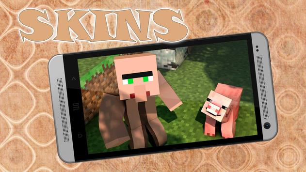 Villager skins for MCPE screenshot 1