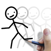Stickman: draw animation, creator & maker, drawing v3.12 (Premium) (Unlocked) (12 MB)