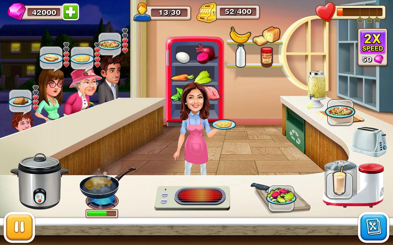 Kitchen Tycoon Shilpa Shetty Cooking Game Para Android - cooking game in roblox studio