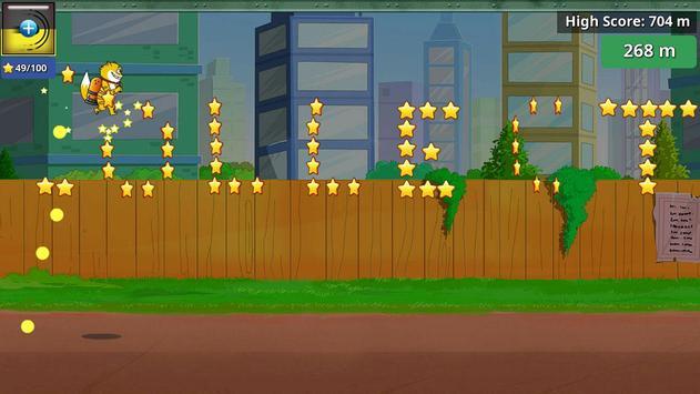 हनी बनी का जेटपैक - हीरो रन: गेम स्क्रीनशॉट 4