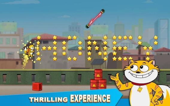 हनी बनी का जेटपैक - हीरो रन: गेम स्क्रीनशॉट 10