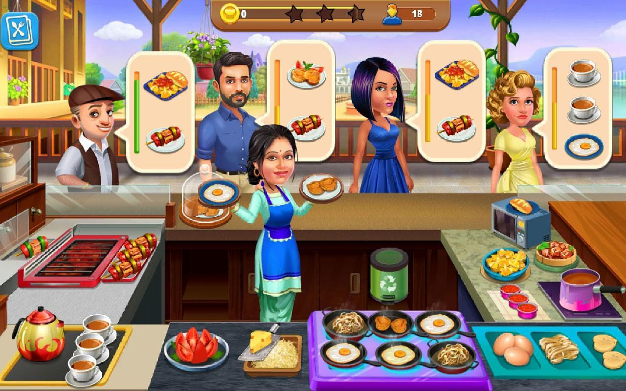Free Babes Games cooking cafe - patiala babes : restaurant game for android