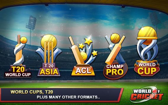 World of Cricket تصوير الشاشة 14
