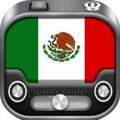 Radio Mexico FM AM - Mexican Radio Stations Online icon