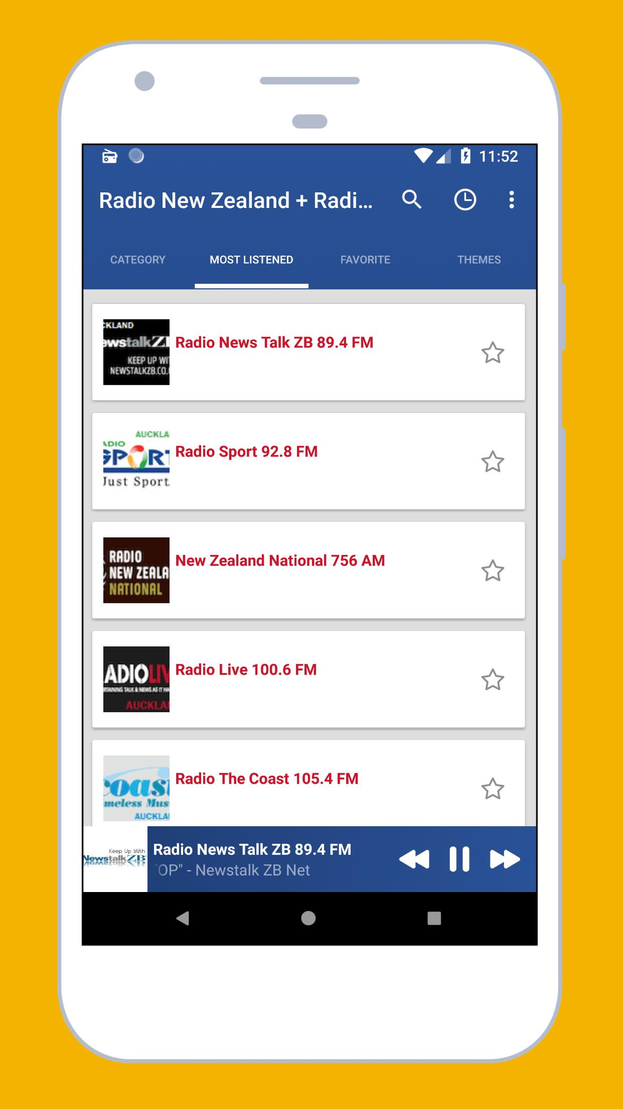 Radio New Zealand - Radio Nz Live, New Zealand App for