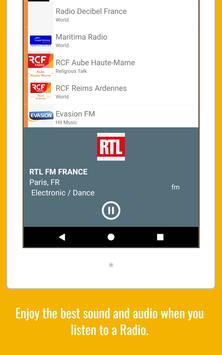 Radio World - Radio Online + World Radio Stations screenshot 13