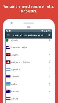 Radio World - Radio Online + World Radio Stations screenshot 16