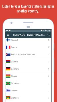 Radio World - Radio Online + World Radio Stations screenshot 20