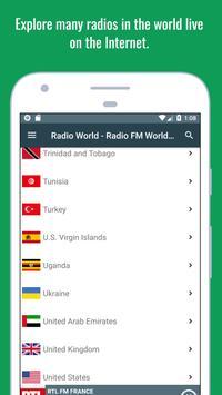 Radio World - Radio Online + World Radio Stations screenshot 22