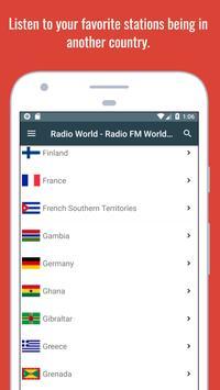 Radio World - Radio Online + World Radio Stations screenshot 4
