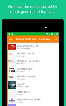 Radio World, Radio FM AM: Internet Radio Worldwide screenshot 15