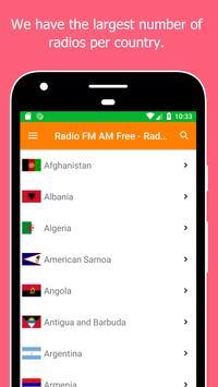 Radio World, Radio FM AM: Internet Radio Worldwide screenshot 16