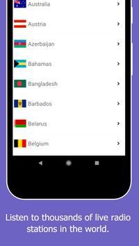 Radio World, Radio FM AM: Internet Radio Worldwide screenshot 17