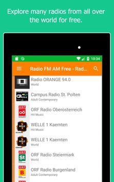 Radio World, Radio FM AM: Internet Radio Worldwide screenshot 10