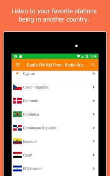 Radio World, Radio FM AM: Internet Radio Worldwide screenshot 12
