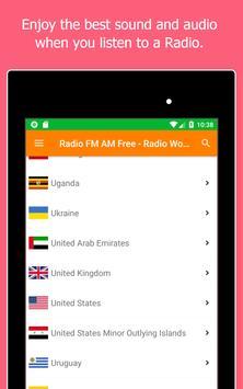 Radio World, Radio FM AM: Internet Radio Worldwide screenshot 13