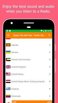 Radio World, Radio FM AM: Internet Radio Worldwide screenshot 21