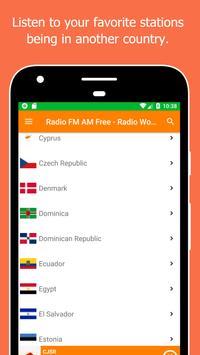 Radio World, Radio FM AM: Internet Radio Worldwide screenshot 4