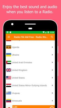 Radio World, Radio FM AM: Internet Radio Worldwide screenshot 5