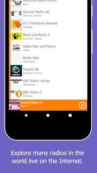 Radio World, Radio FM AM: Internet Radio Worldwide screenshot 6