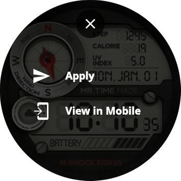 Watch Face App MR TIME Ekran Görüntüsü 7
