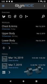 GymACE Pro: Workout Tracker & Body Log 海報