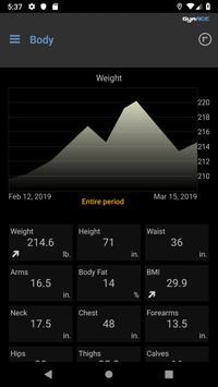 GymACE Pro: Workout Tracker & Body Log 截圖 7