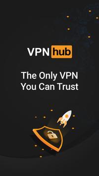 VPN - VPNhub آمن و مجاني مع فتح غير محدود للمواقع الملصق