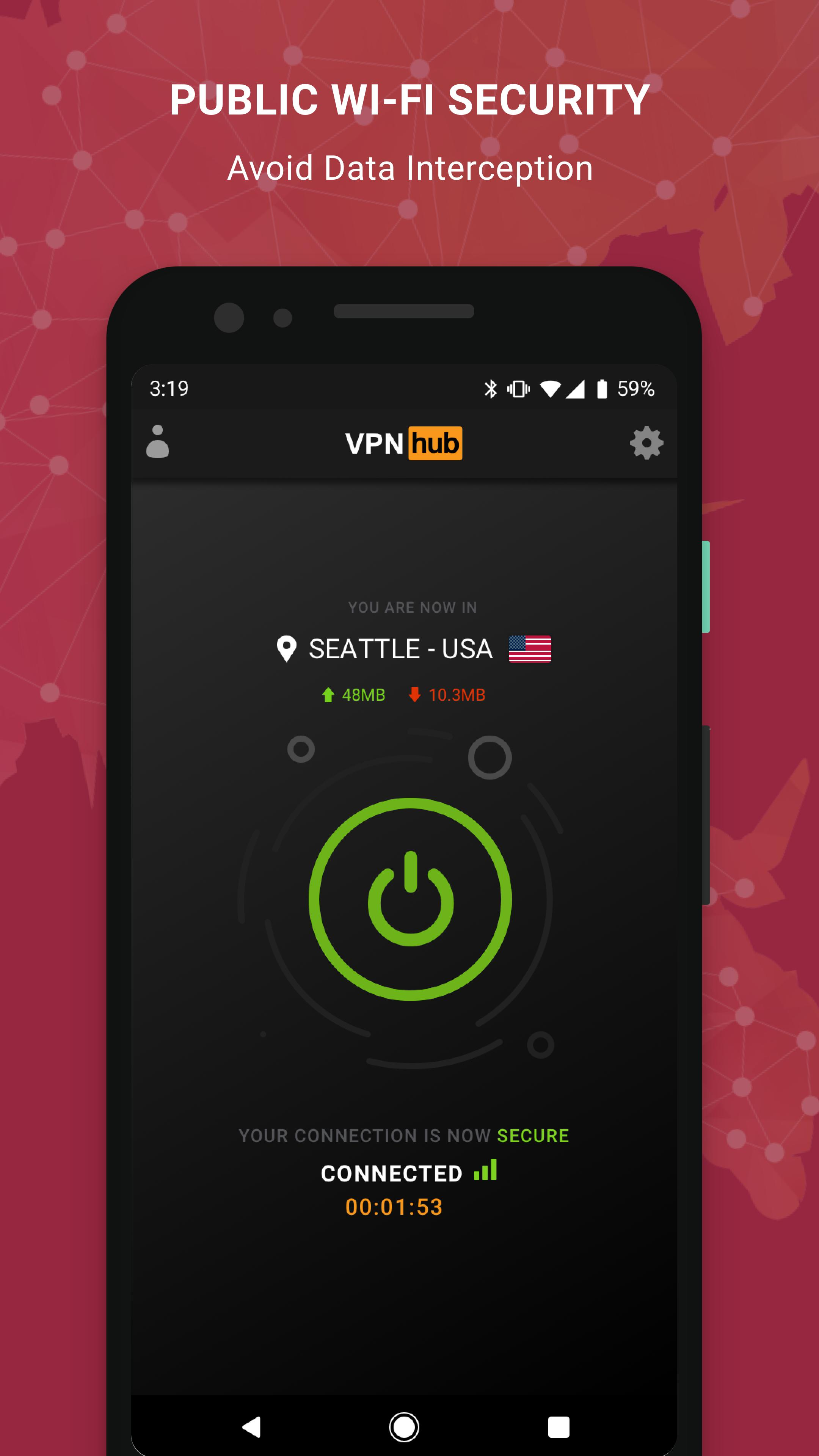 Free VPN - VPNhub for Android: No Logs, No Worries for Android - APK