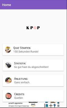 Deutsches K-Pop Quiz multifandom poster