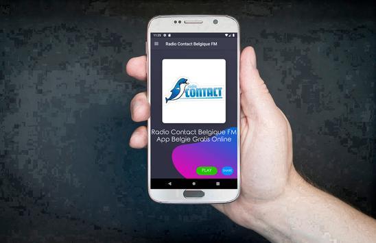 Radio Contact Belgique FM App Belgie Gratis Online screenshot 3