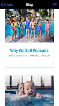 Aquatech Swim screenshot 3