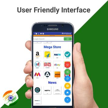 Indian Browser - Fast & Secure screenshot 3