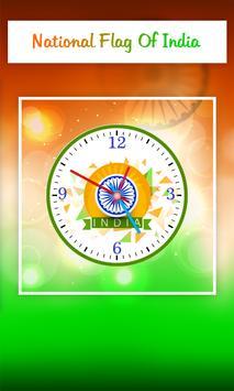 India Clock Live Wallpaper screenshot 1