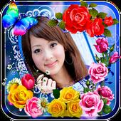 Rose Flower Photo Frames icon