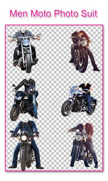 Men Moto Photo Suit poster