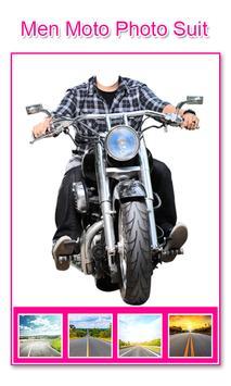 Men Moto Photo Suit screenshot 1