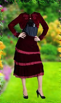 Women Fashion Photo Suit screenshot 2