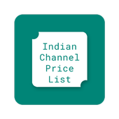 Indian Channel Price List icon
