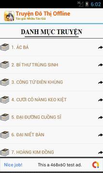 Truyện Đô Thị Offline Hay screenshot 1