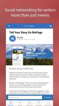 Biopage - Biography & Stories screenshot 2