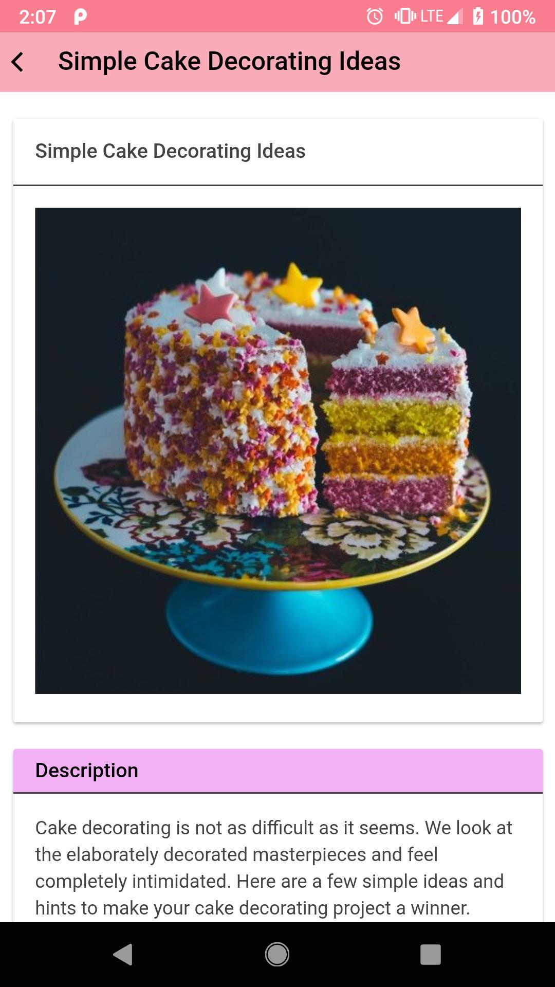 Easy Cake Decorating Ideas For Android Apk Download